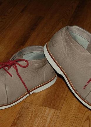 Кожаные туфли ботинки 41,5 р timberland оригинал
