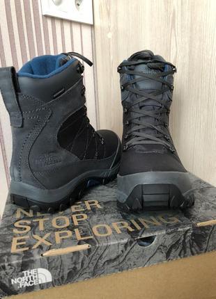Зимние оригинальные ботинки the north face