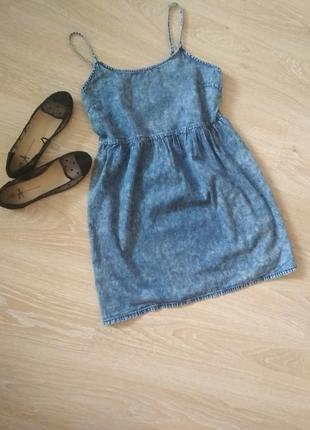 Классный джинсовый сарафанчик1 фото