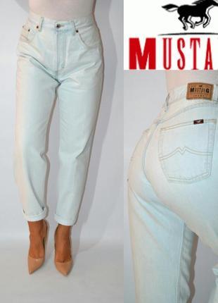 Джинсы момы высокая посадка бойфренды   мом mom  jeans mustang.