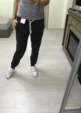 Спортивные тёплые штаны h&m новые оригинал