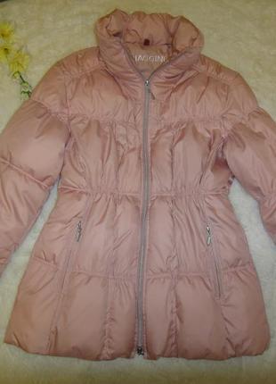Шикарная теплая легкая куртка biaggini р. 48 (38/40) германия