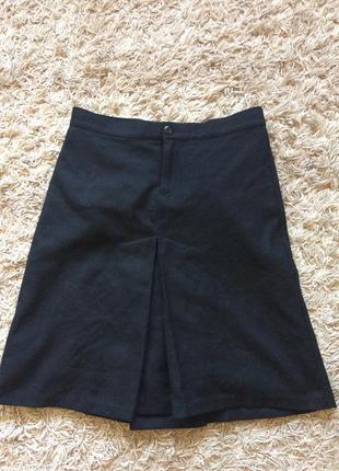 Дизайнерская юбка шерсть