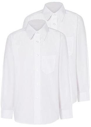Школьные рубашки george slim (для худеньких), р.6-10
