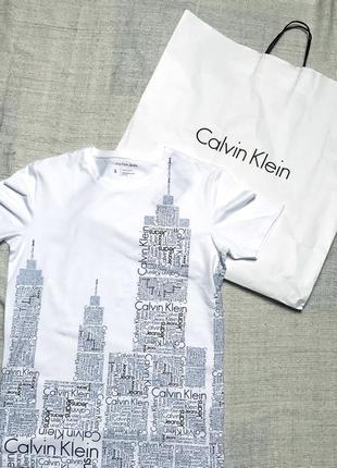 Новая футболка calvin klein