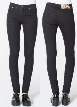 Черные джинсы cheap monday 25-26размер,джинсы cheap monday 25