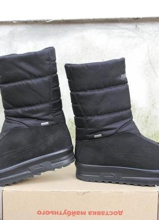 Puma gore-tex р.42-26,5(27)см на меху ботинки.