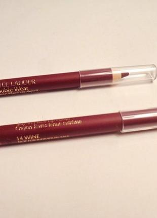 Карандаш для губ estee lauder  double wear stay-in-place lip pencil мини версия - скидка!
