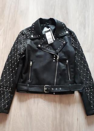 Куртка косуха amisu в biker style 2018