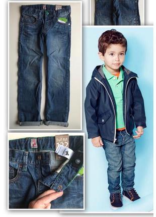 Синие качественные джинсы palomino 110/116/122/128