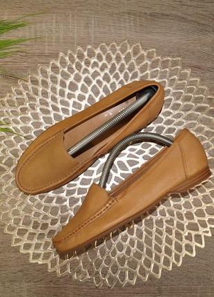 (38/24,5см) cherokee! кожа! комфортные туфли, мокасины на низком ходу
