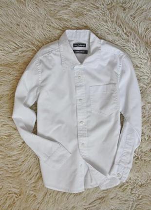 Белая рубашка на мальчика в школу
