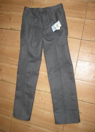 """Новые серые школьные брюки """"debenhams"""" на 12 лет"""