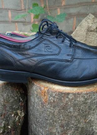 Pierre cardin мужские кожаные туфли 44р.