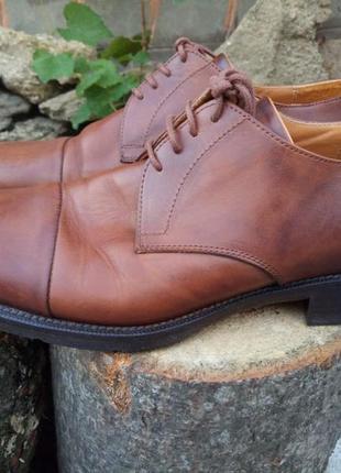 Vero cuoio итальянские мужские туфли 42р.