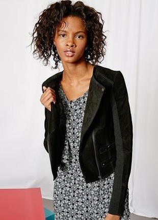 Фирменная замшевая куртка vero moda, размер s