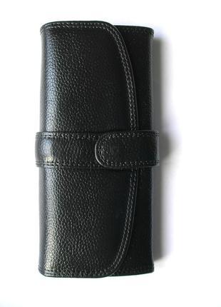Кожаный классический кошелек, 100% натуральная кожа, доставка бесплатно