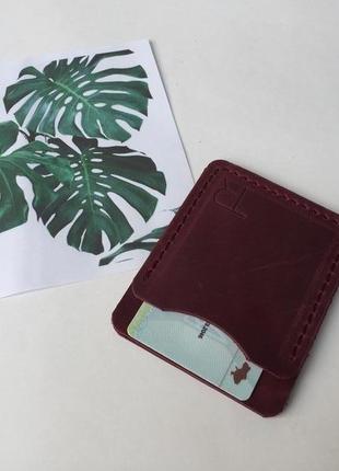 Міні-гаманець, міні-візитниця, для карток, hand made, для водійського посвідчення