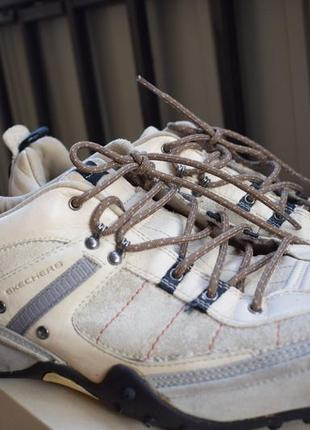 Кожаные туфли мокасины сникерсы р.47,5 skechers скечерс 31-31,5