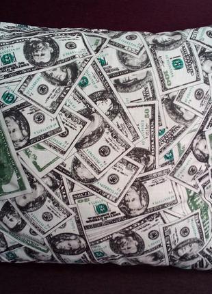 Декоративная подушка *долар*