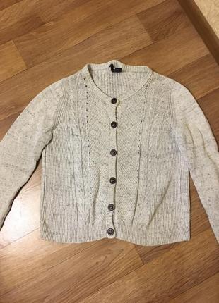 Marks & spencer  кофточка теплая свитер