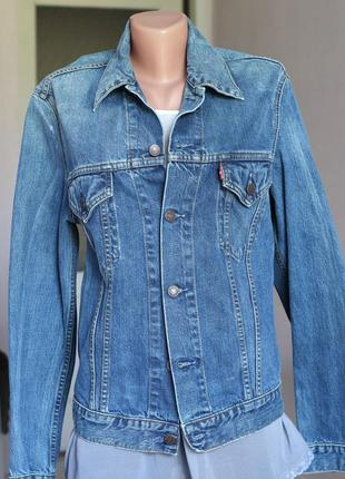 Джинсовая куртка левис levis м 38 размер