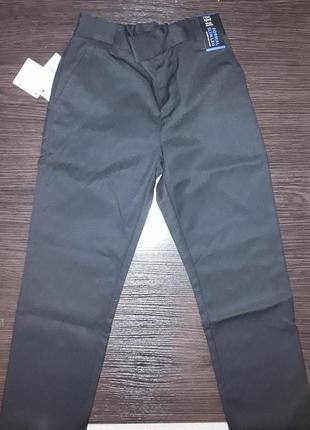 Школьные брюки без защипов next