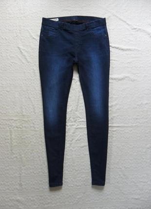 Стильные джинсы джеггинсы скинни clockhouse, 14-16 размер.