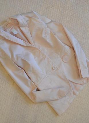 Пиджак нежного цвета от н&m / xs