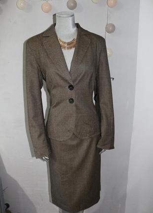 Шерстяной костюм marc cain