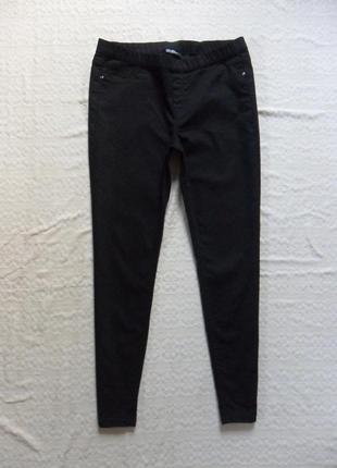Стильные черные джинсы джеггинсы скинни yesicca, 16-18 размер.