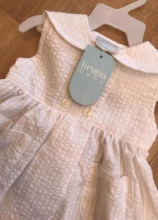 Новое платье linea petite