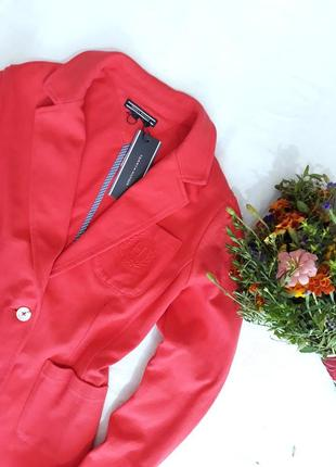 Оригинал!!! стильный пиджак, блейзер tommy hilfiger, m-l