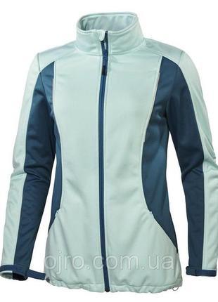 Куртка спортивная термо кофта crivit sports р. 46-48 черно-розовая!