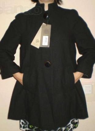 """Пальто - пончо - """"silvian heach"""" италия, размер l"""