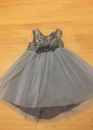 Нарядное платье next на 2 года