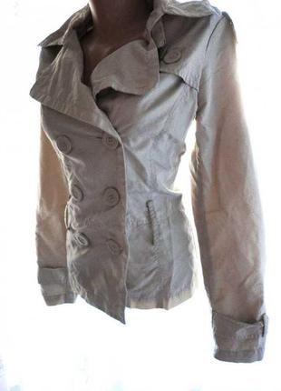 Осенняя курточка zara (длина 56  ог 90  от 80  полиэстер)