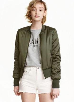Куртка-пилот , бомбер, цвета хаки brave sou р.44-46 (s, 10)