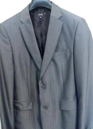 Пиджак oodji светло-серый