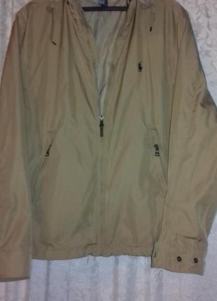 Демисезонная куртка от ralph lauren