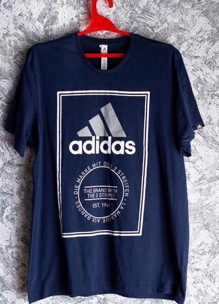 Оригинальная футболка adidas 2017 года выпуска