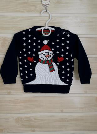 Свитшот свитер 9-12мес  rebel