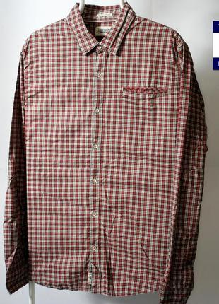 Рубашка tommy hilfiger состояние новой вещи размер: l