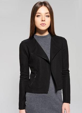 Мастхев! стильный актуальный пиджак-косуха без застежки atmosphere. размер l-xl