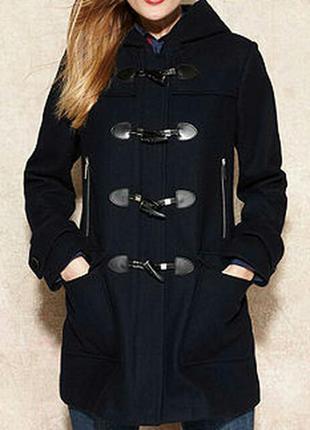 Стильное женское пальто на осень цвет графит