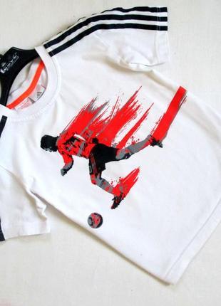 Adidas/укороченная футболка с ярким принтом/оригинал