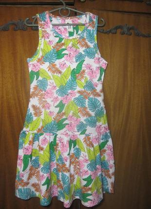 Милое трикотажное платьице  c&a в идеальном состоянии