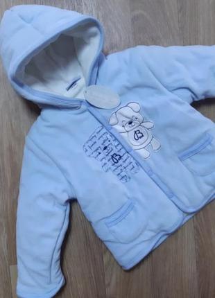 Демисезонная куртка bidibimbo chic 12-18мес.италия