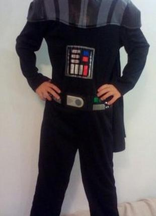 Новогодний ,карнавальный костюм дарта вейдера star wars на 9-10 лет