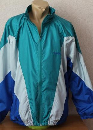 Adidas- оригинал, ветровка, олимпийка xl-3xl, сост. идеал